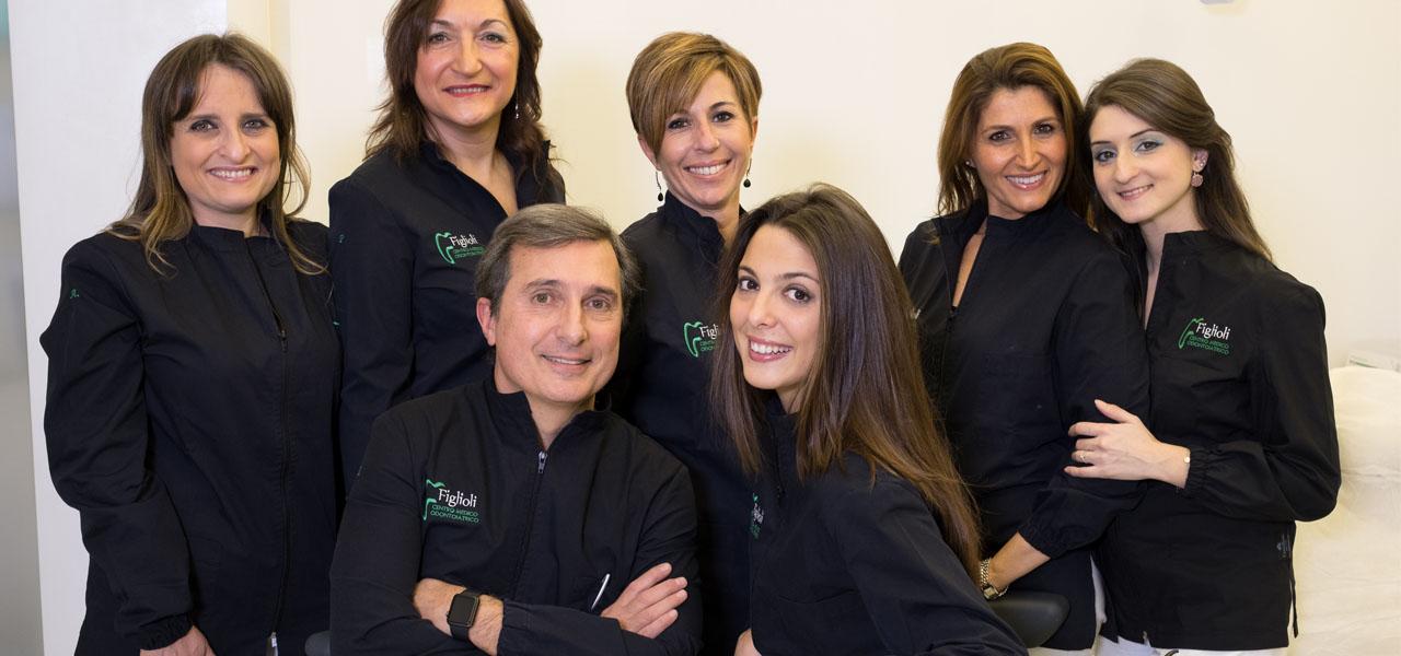 staff centro odontoiatrico figlioli